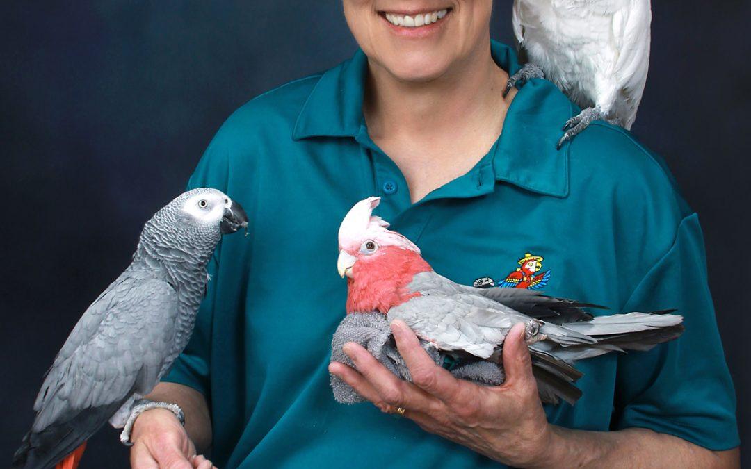 Parrots in a Portrait–You Bet!